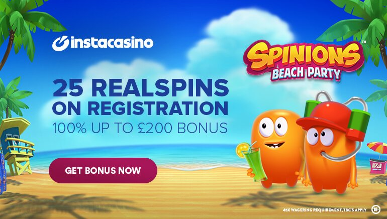 Insta Casino 25 free spins no deposit keep your winnings